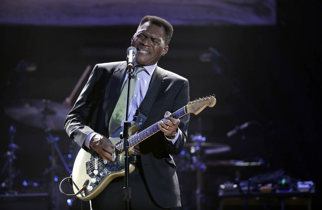 Lifetime achievement award for performance winner Robert Cray performs during the Americana Hon ...