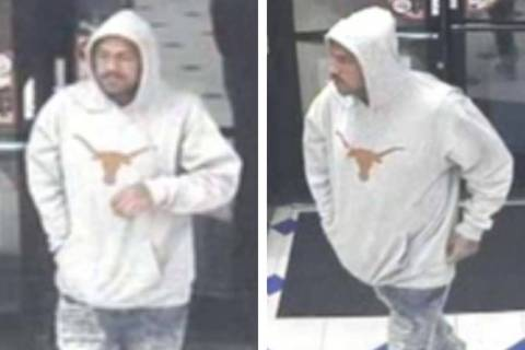 Police are looking for this man in conection to a robbery that occurred Wednesday, Aug. 21, 201 ...
