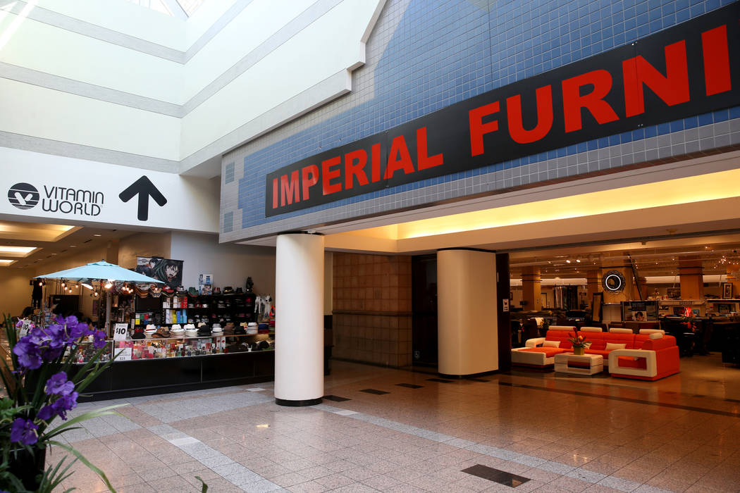 Imperial Furniture at the Boulevard Mall in Las Vegas Wednesday, Aug. 21, 2019. (K.M. Cannon/La ...