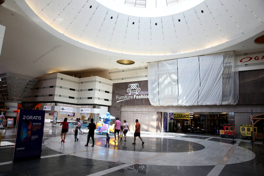 The Boulevard Mall in Las Vegas Wednesday, Aug. 21, 2019. (K.M. Cannon/Las Vegas Review-Journal ...