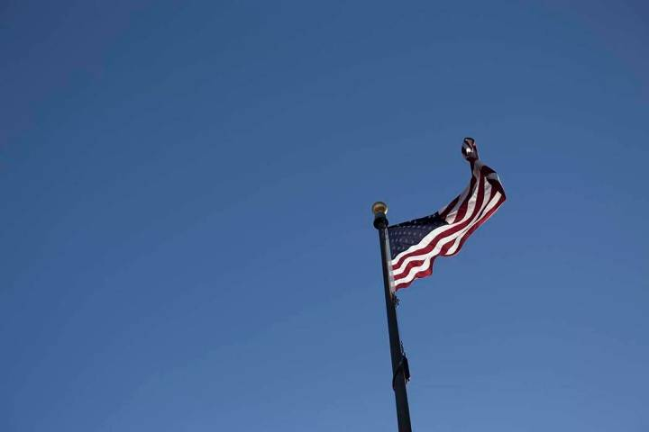 Winds from the south may gust up to 21 mph Thursday in the Las Vegas Valley. (Rachel Aston/Las ...
