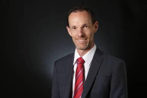 Clark County Commissioner Justin Jones (Michael Quine/Las Vegas Review-Journal) @Vegas88s