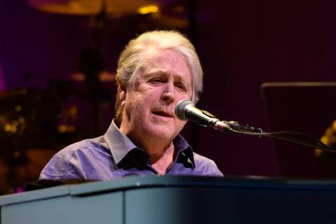 Brian Wilson performs at the Rosemont Theatre on Friday, Oct 6, 2017, in Rosemont, Ill. (Photo ...