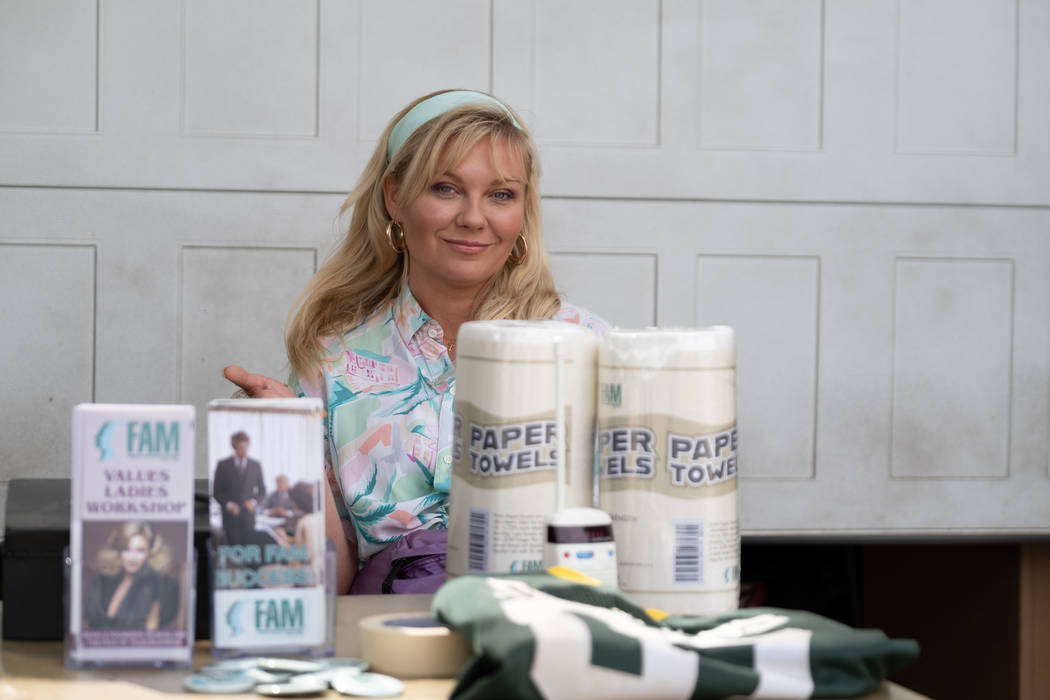 """Kirsten Dunst as Krystal Stubbs in """"On Becoming a God in Central Florida."""" (Patti Perret/So ..."""