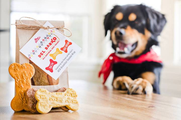 Del Taco around the country will offer a chance to get free Del Barko all-natural dog treats on ...