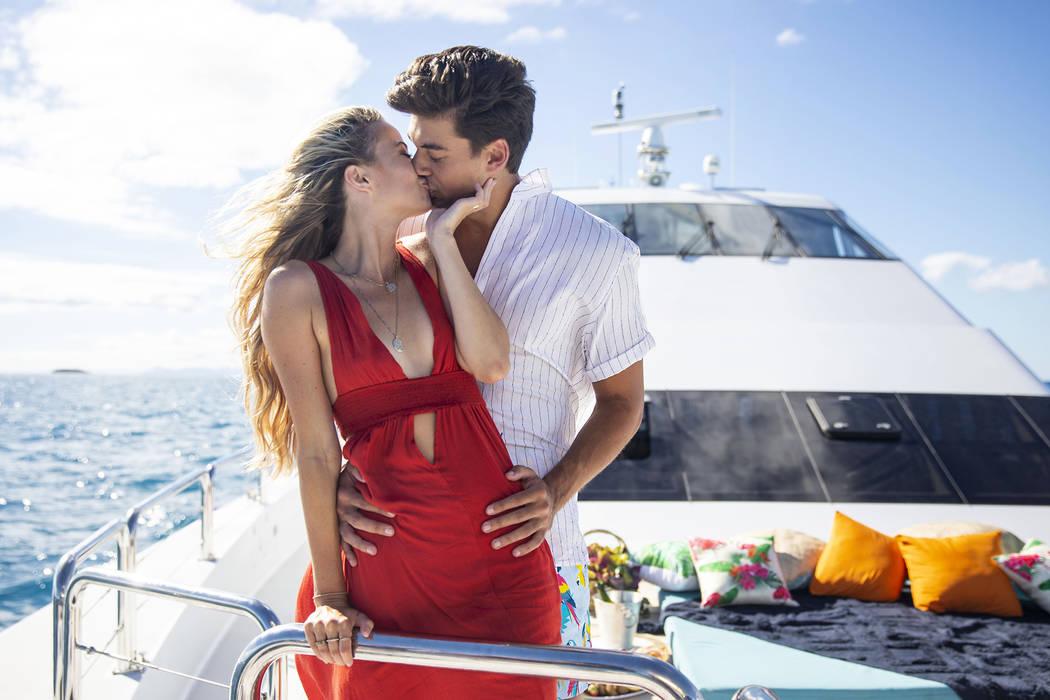 Love Island - Pictured: Elizabeth Weber and Zac Mirabelli. The twentieth episode of Love Island ...