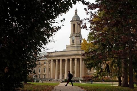 Old Main at Penn State University (AP Photo/Gene J. Puskar, File)