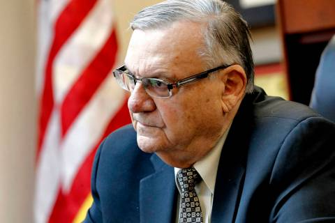 Joe Arpaio (AP Photo/Matt York)
