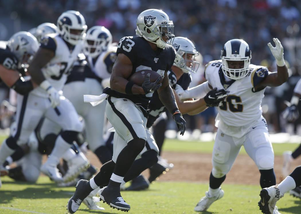 DeAndre Washington embracing Raiders opportunity behind Josh Jacobs