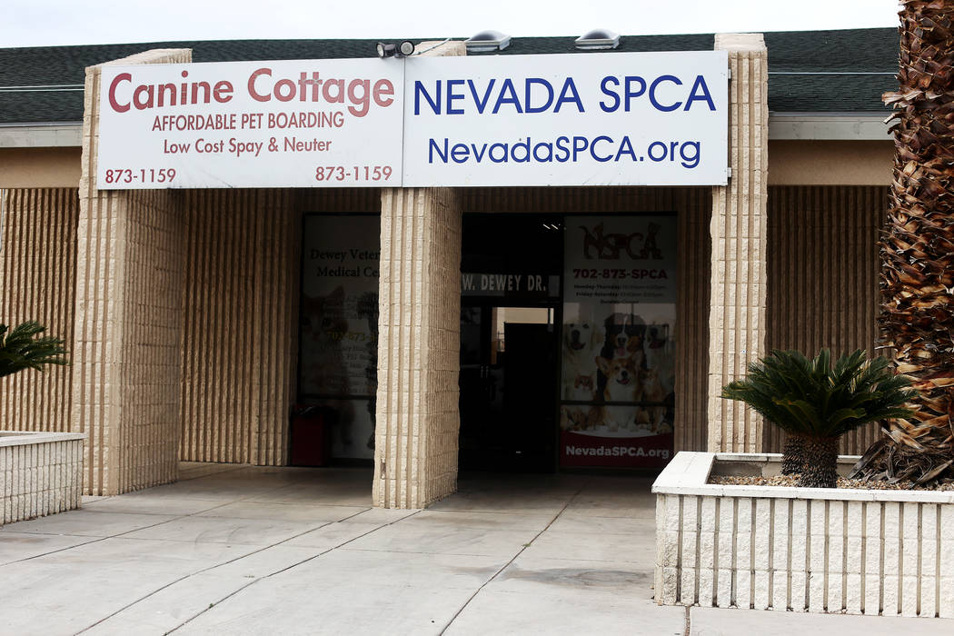 The Nevada Society for the Prevention of Cruelty of Animals in Las Vegas, Monday, April 15, 201 ...