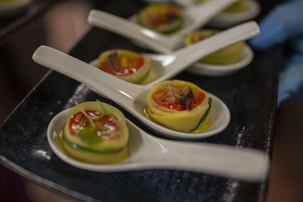 French Ratatouille Rolls created by Chef Yuri Szarzewski of EATT Gourmet Bistrofor the recreati ...