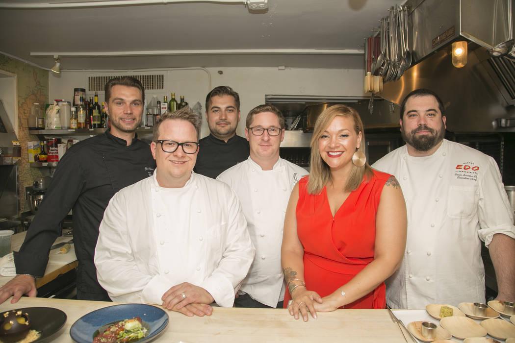 Photo by Rinah Oh From left, Yuri Szarzewski, Brian Howard, Vincent Pellerin, Andrew Carroll, D ...