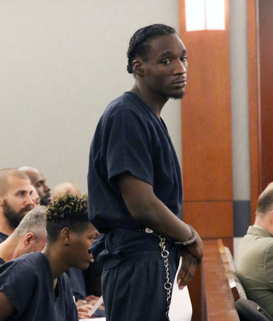 Jonathan Pennington, 26, along with three other defendants, charged in a shooting that left an ...