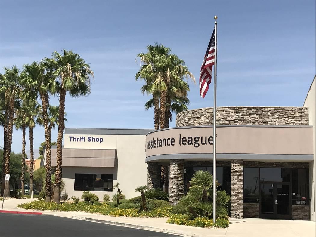 The Assistance League of Las Vegas is pictured Aug. 23. (Julie Wootton-Greener/Las Vegas Review ...