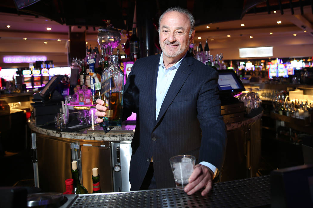 "Hard Rock CEO Richard ""Boz"" Bosworth at the Las Vegas hotel, Thursday, June 14, 2018. (Erik Ver ..."