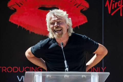 Virgin Hotels Group founder Sir Richard Branson speaks at a news conference in March at the Har ...