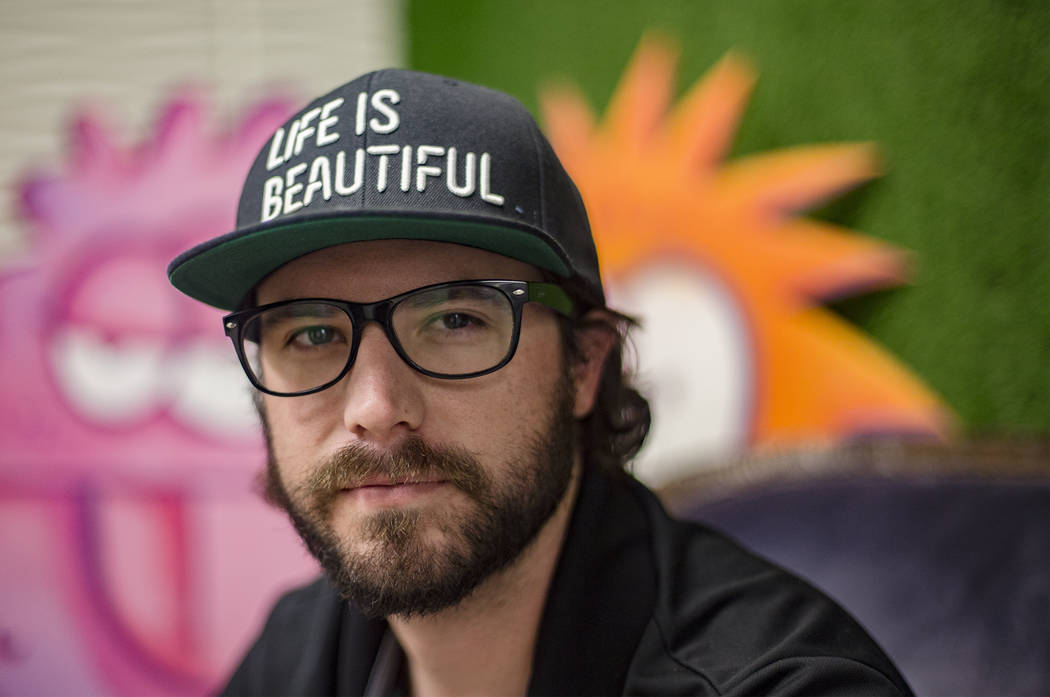 Lee Flint is the culinary director for Life Is Beautiful Festival in downtown Las Vegas. (Rache ...