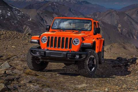 Stop by Chapman to see MotorTrend's SUV of the Year, the 2019 Jeep Wrangler. (Jeep)