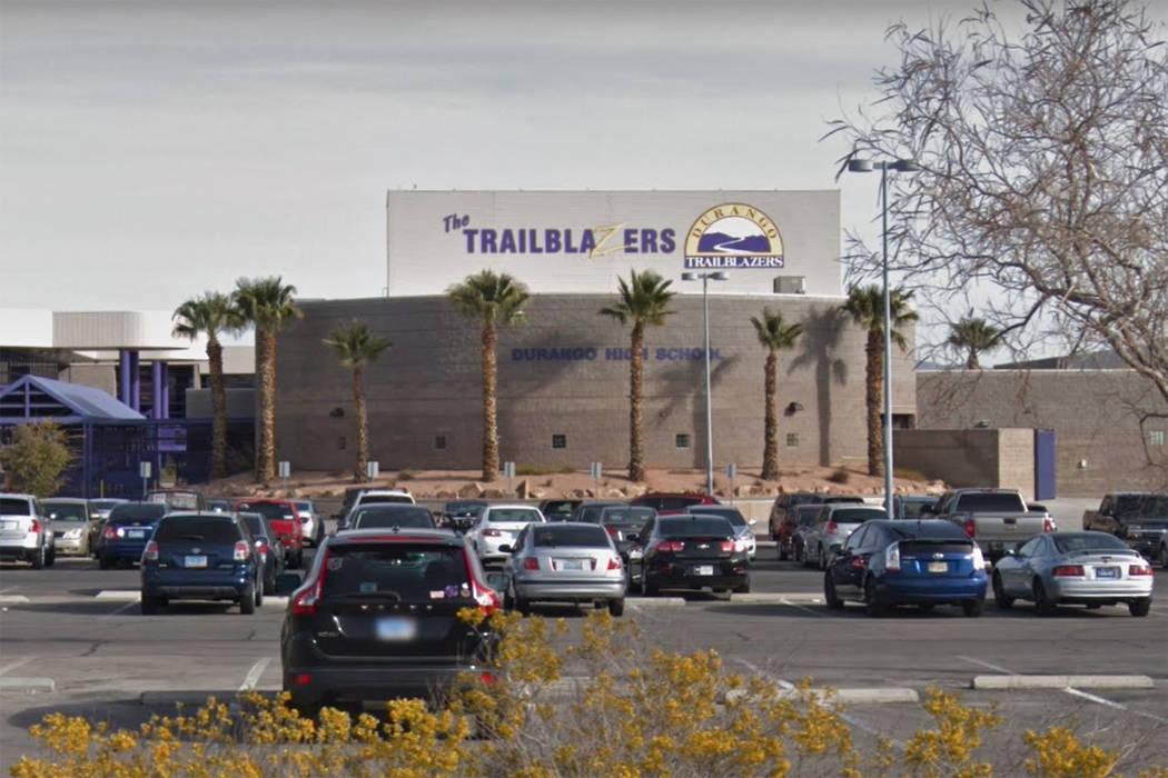 Durango High School is seen in a screenshot. (Google)