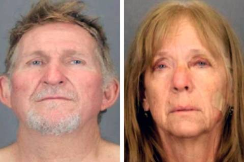 Blake Barksdale, 56, left, and Susan Barksdale, 59 (Tucson Police Department via AP)