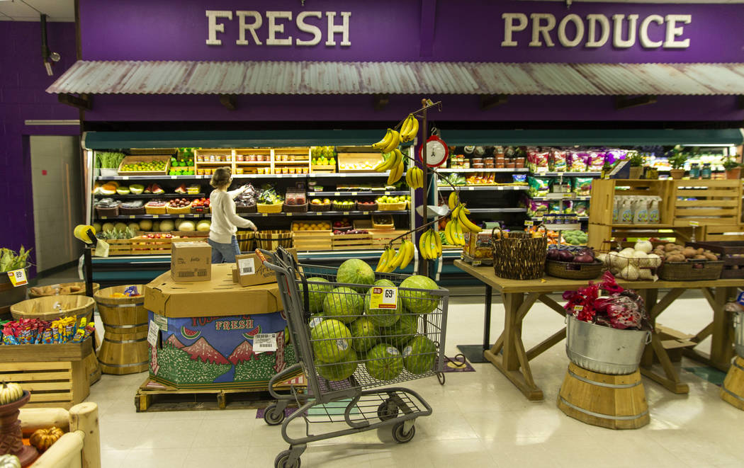 The Great Basin Foods store along U.S. Highway 93 offers the largest selection of food and supp ...