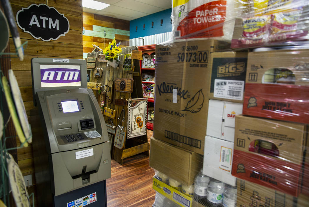 The Great Basin Foods store along U.S. Highway 93 offers an ATM along with the largest selectio ...