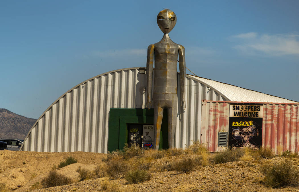 The Alien Research Center in Hiko will be a gathering site for the upcoming Alienstock festival ...