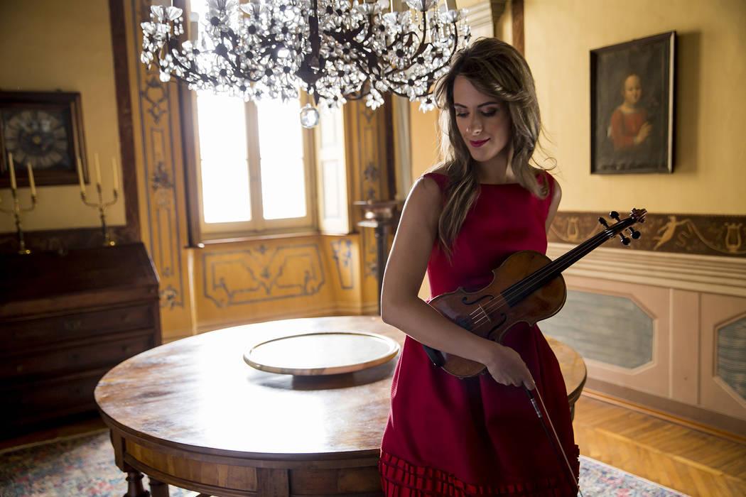 Violinist Francesca Dego. (Davide Cerati)