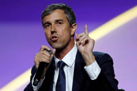 In this July 24, 2019, file photo, Democratic presidential candidate former Texas Rep. Beto O'R ...
