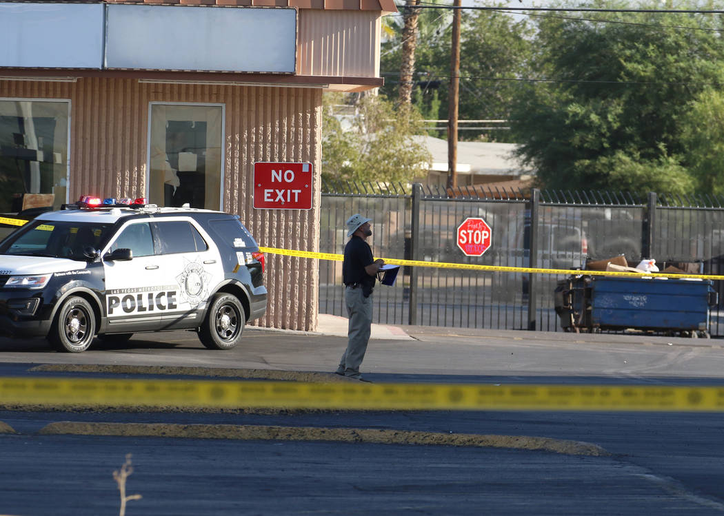 Las Vegas police are investigating after a woman was killed by a sledgehammer at the 1000 block ...