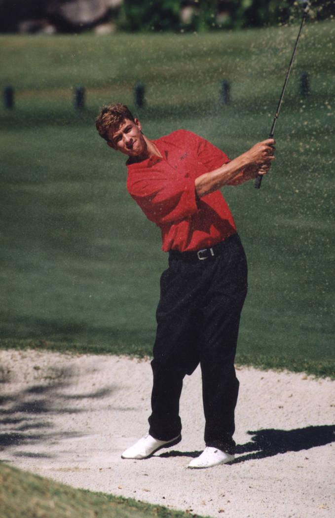 Adam Scott, shown when he was a UNLV All-American in 1998-99, also won the 2013 Masters and has ...