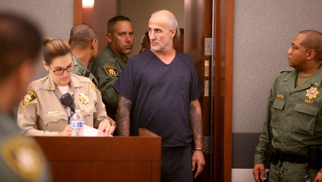 "Michael ""Sully"" Sullivan looks back at the gallery while appearing in court at the Re ..."