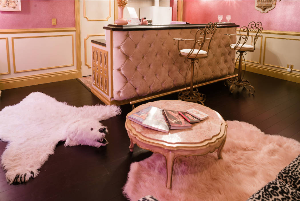 The Vintage Glitz Suite at Clairbnb, which is now fully open to the public. (lemew photography)