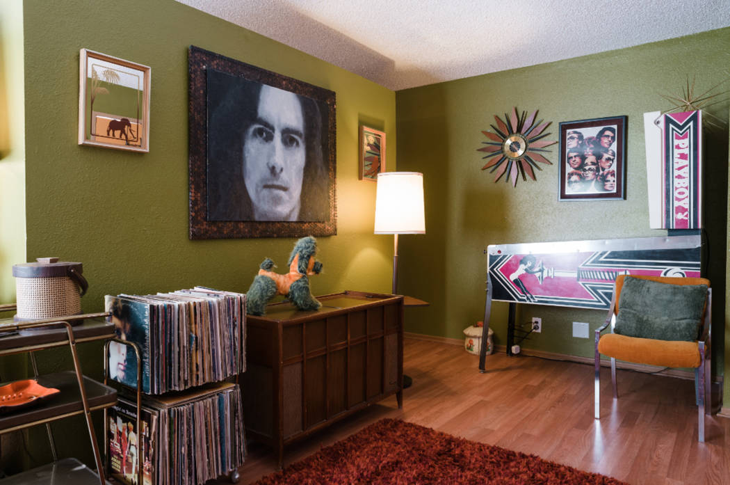 The 70s Suite at Clairbnb, which is now fully open to the public. (lemew photography)