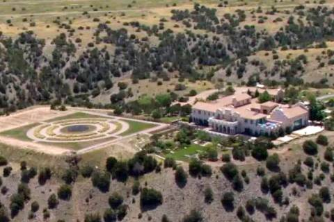 FILE - This Monday, July 8, 2019 photo shows Jeffrey Epstein's Zorro Ranch in Stanley, N.M. New ...
