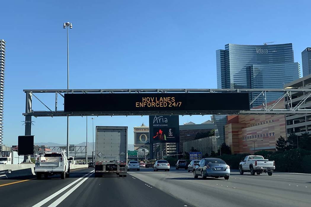 NDOT is in the process of testing out the full color dynamic messaging signs installed during P ...