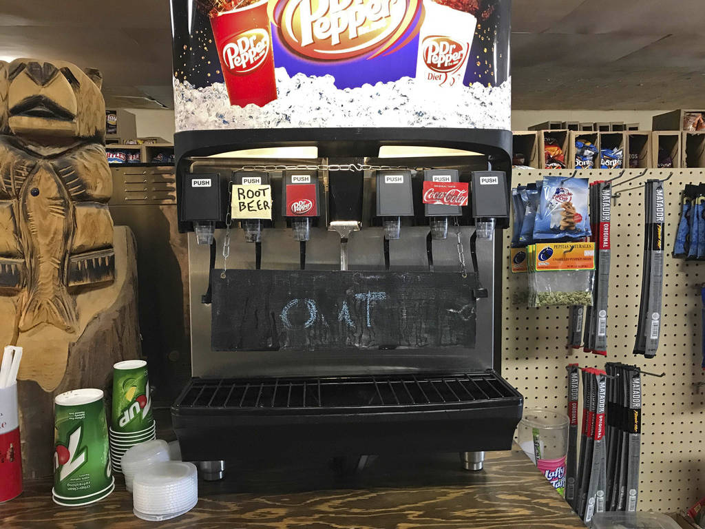Because of high demand, syrups that flavor the sodas at the Empire Store ran out and forced own ...