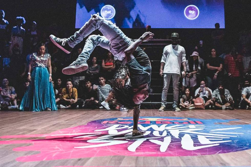 B-boy Supa Josh, competes at Red Bull Dance Your Style in Boston, USA on August 2, 2019 // Kien ...