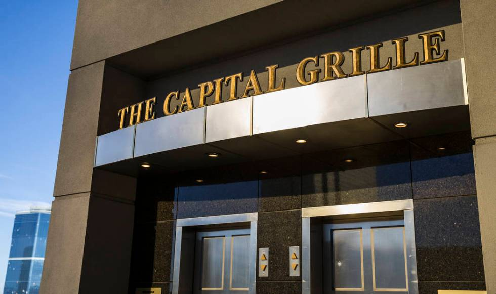 The Capital Grille (Benjamin Hager/Las Vegas Review-Journal)