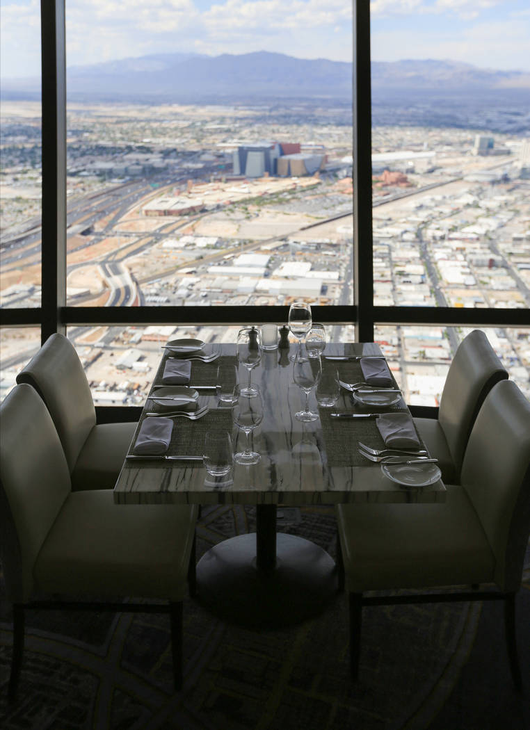 Top of the World (Brett Le Blanc/Las Vegas Review-Journal)