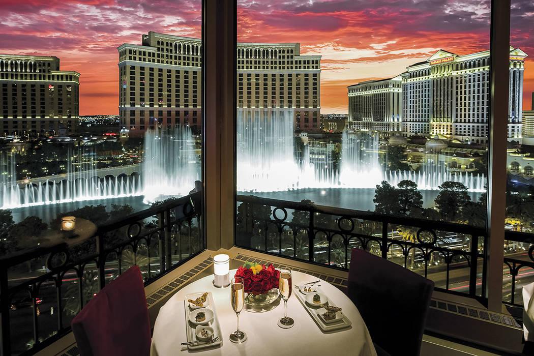 Las Vegas Restaurants With Spectacular Views Las Vegas