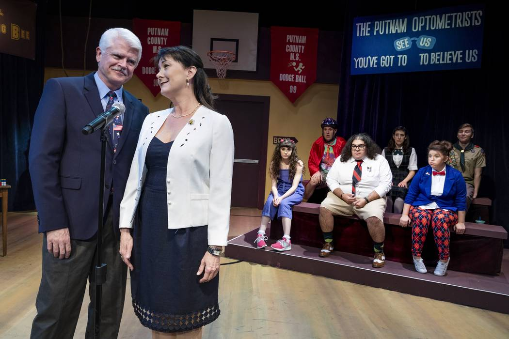 """""""The 25th Annual Putnam County Spelling Bee"""" (Las Vegas Little Theatre)"""