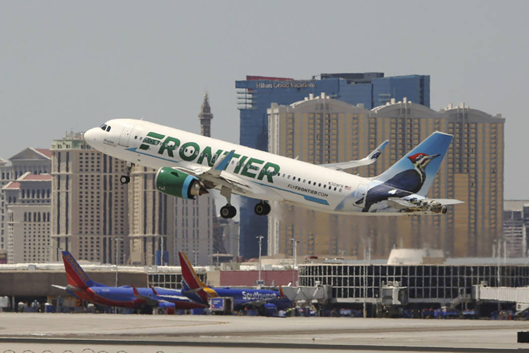 Father claims Frontier crew defamed him on flight to Las