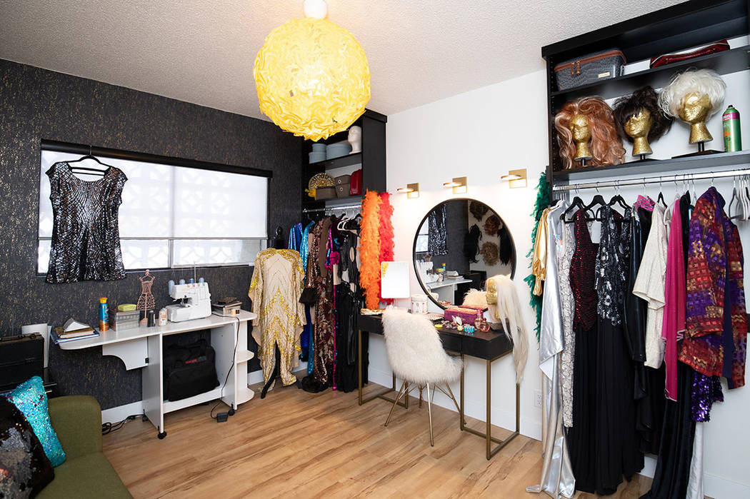 "The ""drag room."" (Tonya Harvey/Real Estate Millions)"