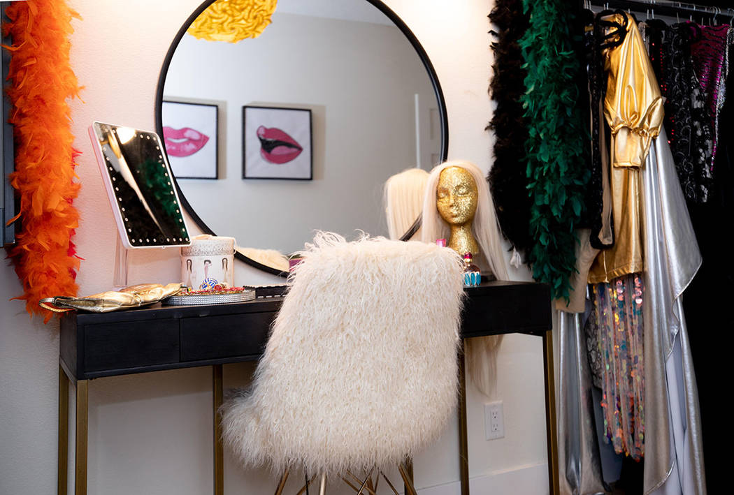 "The ""drag room"" has a place for the star to get ready for the show. (Tonya Harvey/Real Estate M ..."