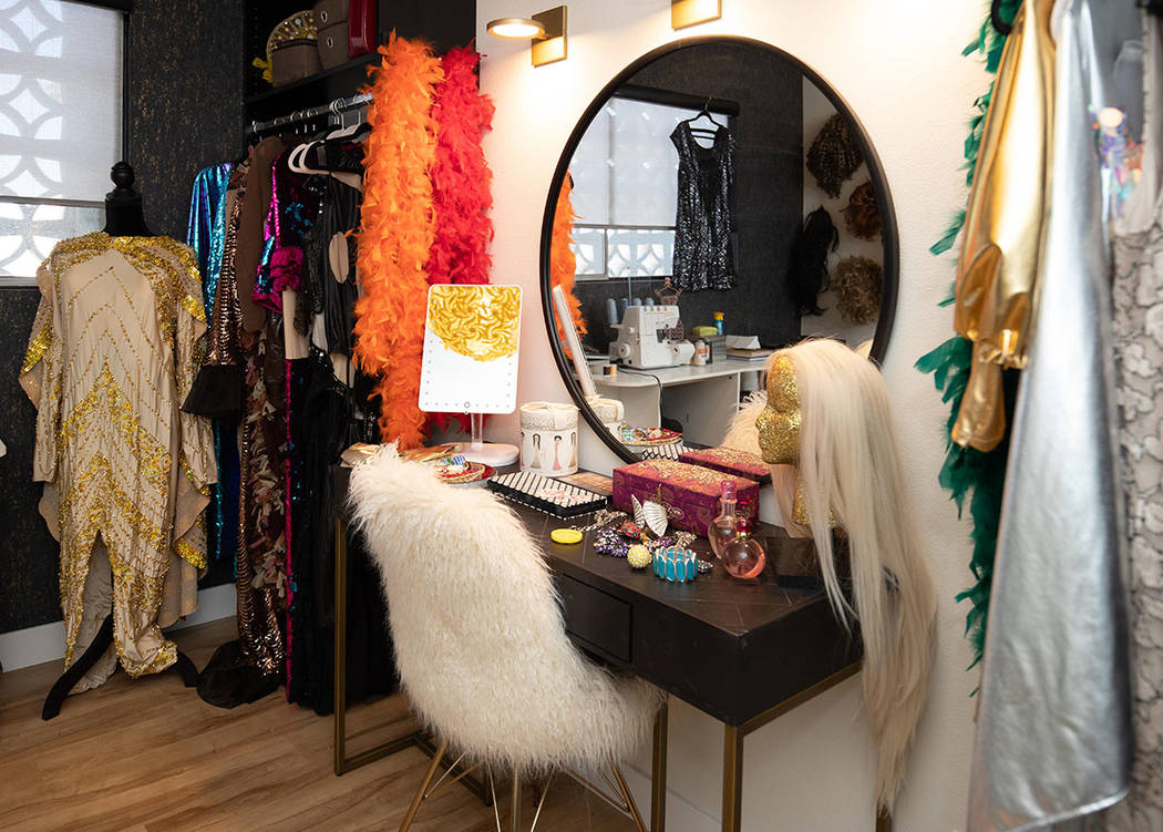 "A mirror was a must for the ""drag room."" (Tonya Harvey/Real Estate Millions)"