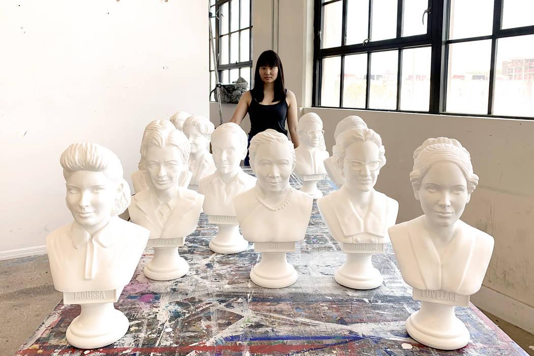 "Amanda Phingbodhipakkiya's exhibition, ""Connective Tissue,"" will be on display at UNL ..."
