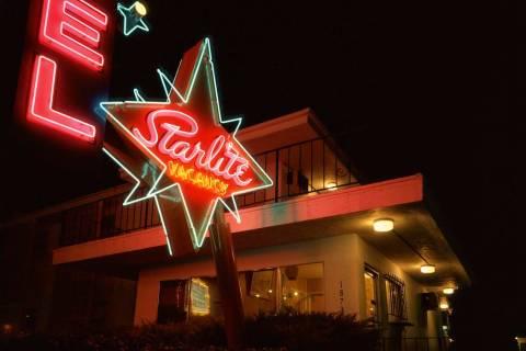 North Las Vegas' Starlite Motel in 1995 (Fred Sigman)