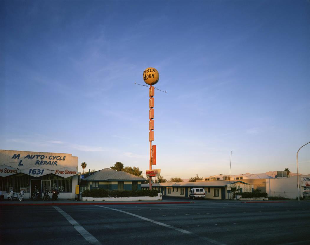 Desert Moon Motel sign (Fred Sigman)