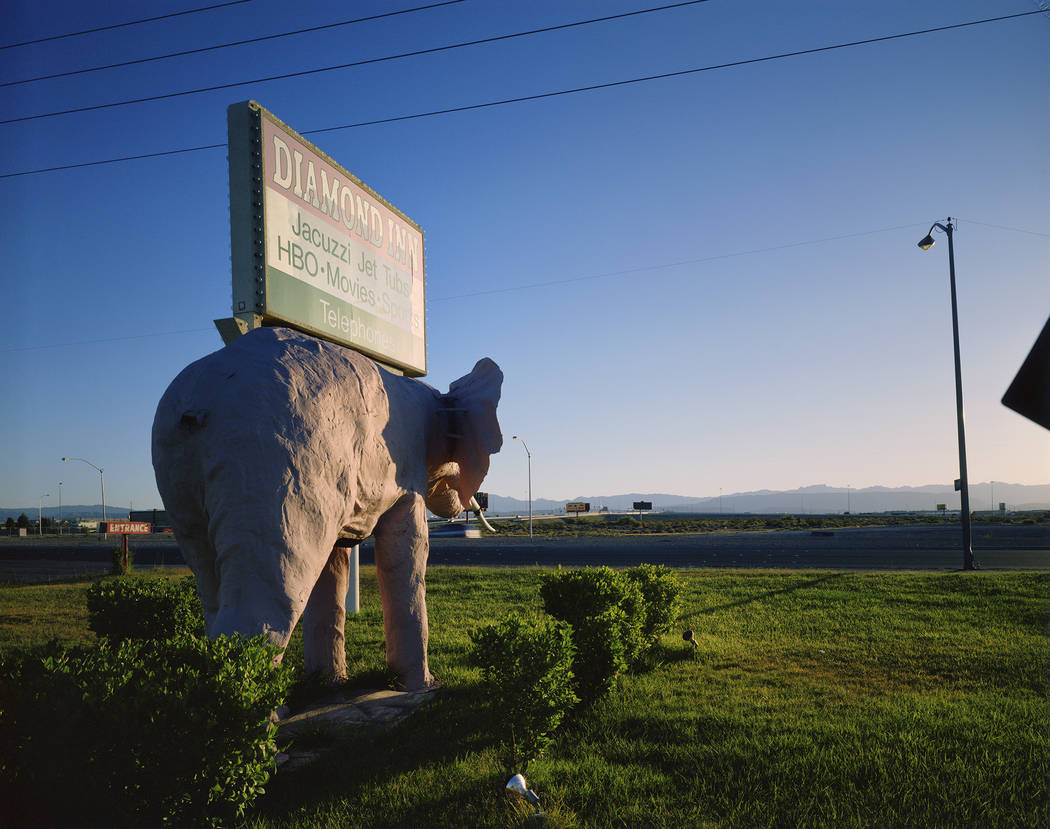 Diamond Inn Motel sign (Fred Sigman)